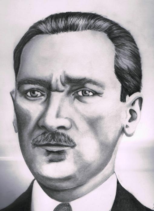 Mustafa Kemal Atatürk por Oeztuerk